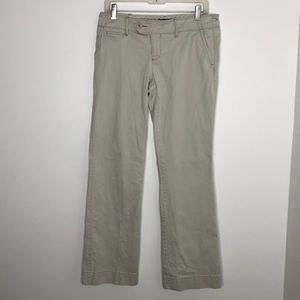 American Eagle Outfitters, cream color pants, 10